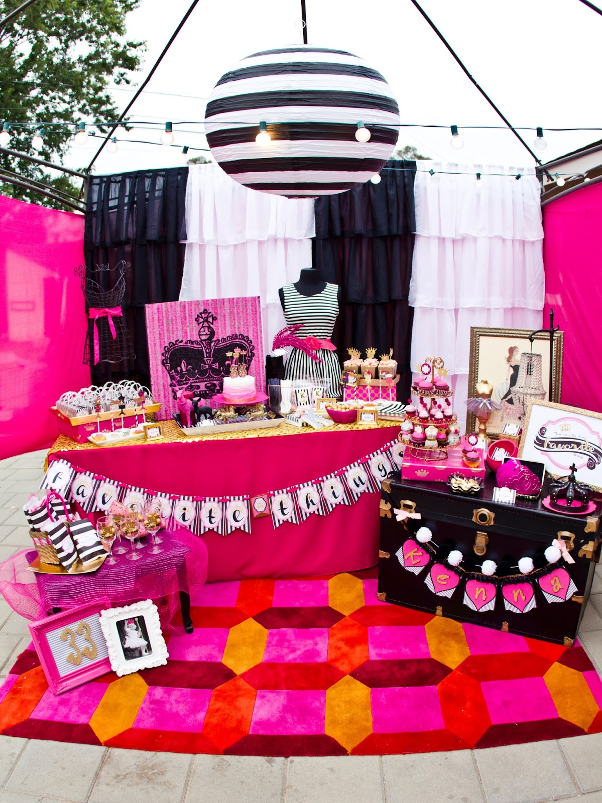 Miss Party Mom Kennas Favorite Things 33rd Birthday