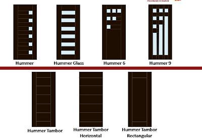Carpinter a la fe de dios puertas principales y de for Modelos de puertas de metal para interiores