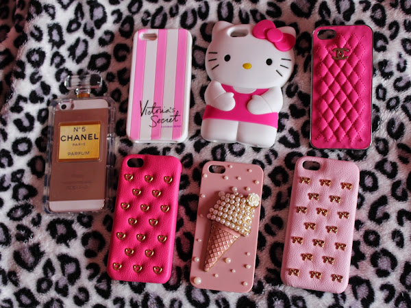 As minhas capinhas do Iphone ♡