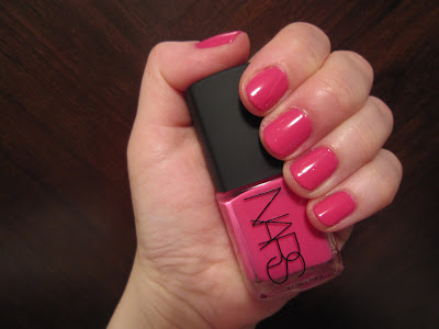 NARS, NARS Nail Polish, NARS Schiap, NARS Schiap Nail Polish, nail, nails, nail polish, polish, lacquer, nail lacquer, mani, manicure, mani of the week, manicure of the week
