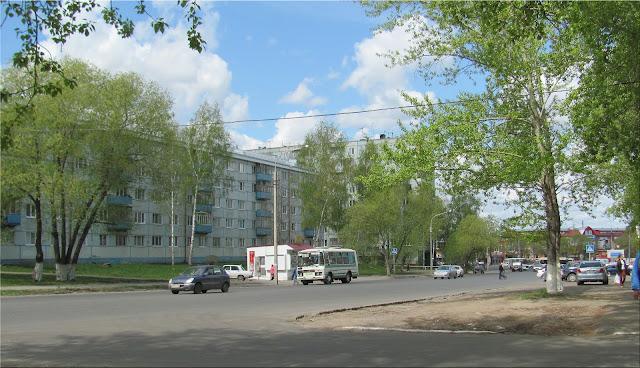 Машины на улицах Томска