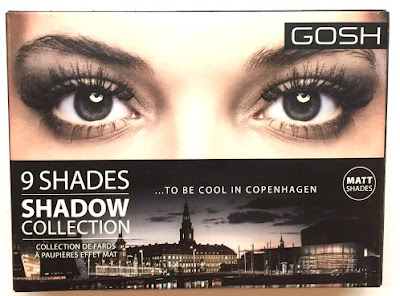 Gosh Copenhagen To Be Cool in Copenhagen Eye Shadow Palette SS16 collection