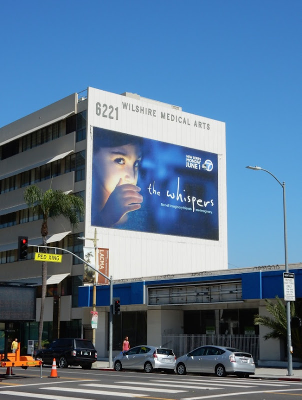 The Whispers giant billboard