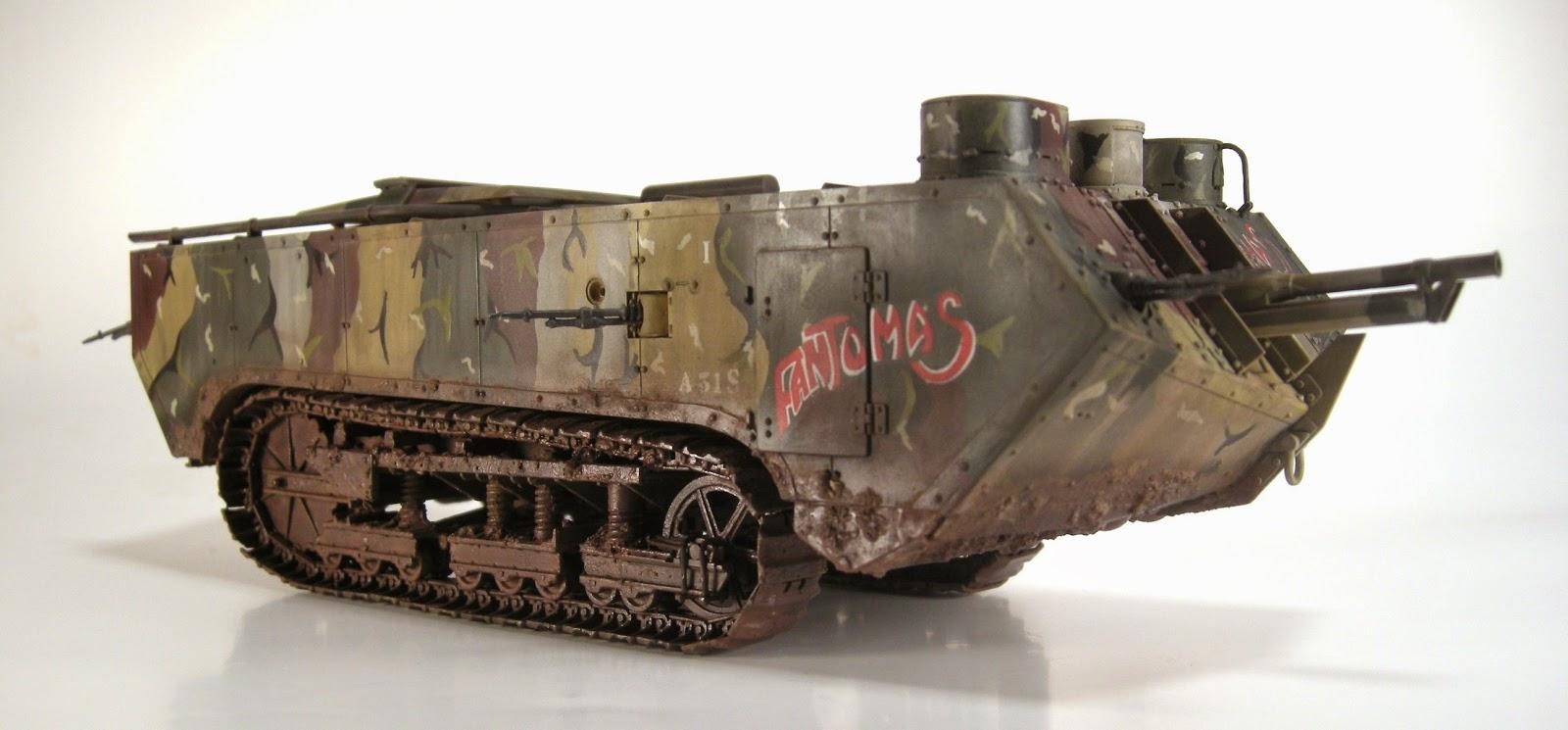 MODEL OTAKU: French WW1 Heavy Tank - St. Chamond