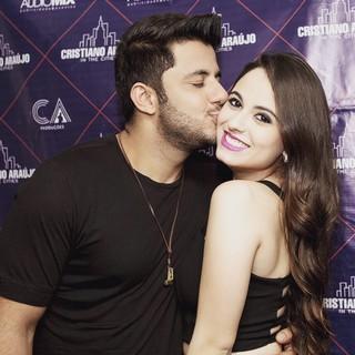 Cristiano Araújo and his girlfriend Allana Moraes Coelho