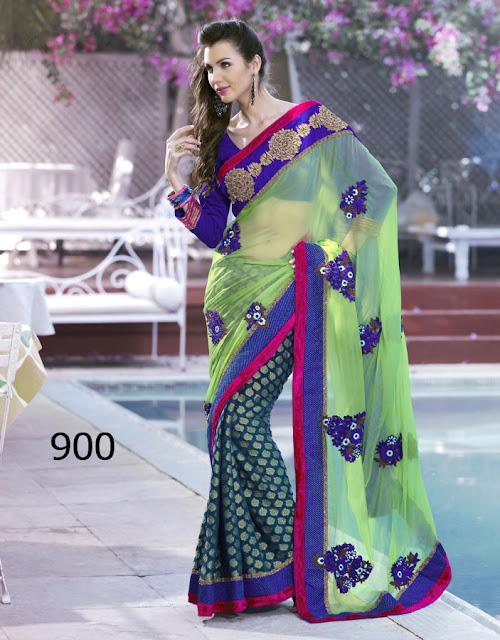 Impressive Wedding Bridal Saree