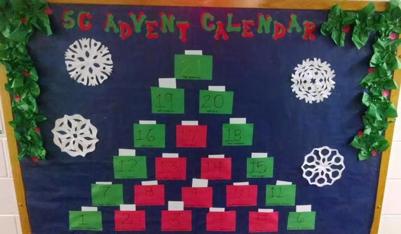 Advent Calendar Bulletin Board : Villanova ra bulletin board winners december