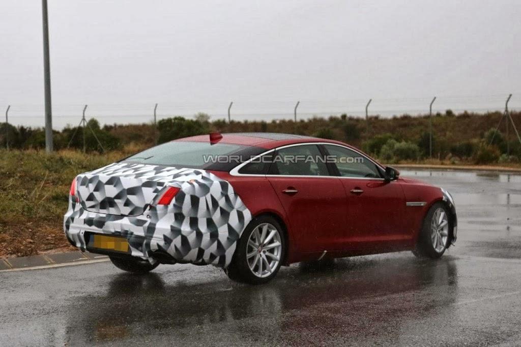 Jaguar XJ facelift version 2015