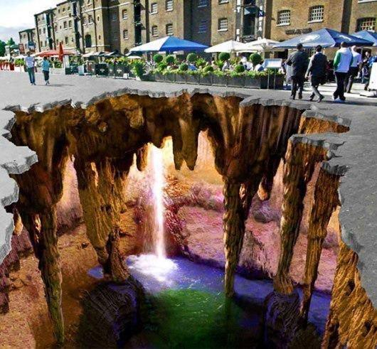 Artistic Land : Amazing 3D Art on Road Side ...