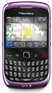 Sprint BlackBerry Curve 3G 9330 announced
