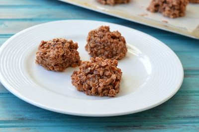 The Savvy Kitchen: No-Bake Nutella and Peanut Butter Cookies