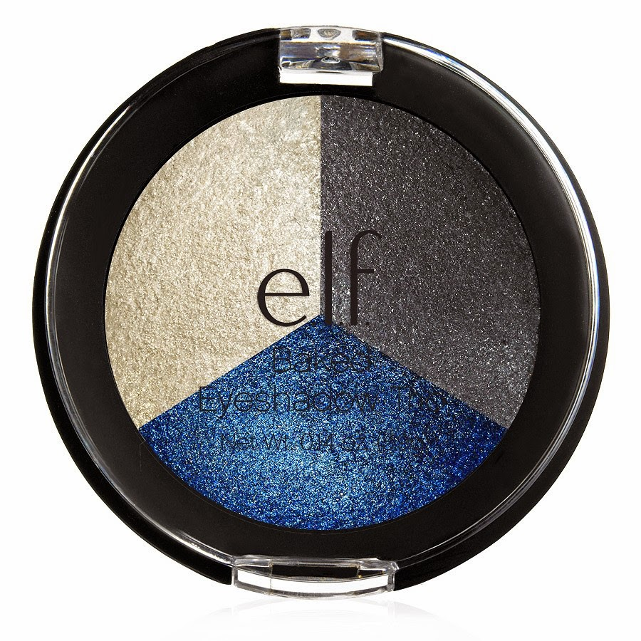 e.l.f.: Studio Baked Eyeshadow Trio, Limited Edition, Smokey Sea