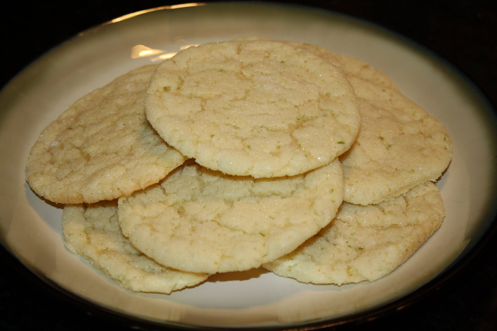 Seasoned with Love: Coconut Lime Chewy Sugar Cookies