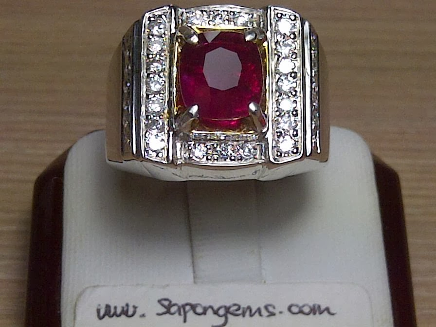2,87ct UNHEATED RUBY only IDR 9 MIO