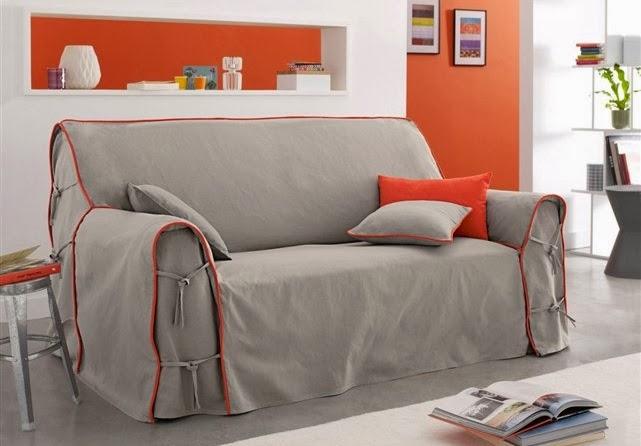 Capas para sof s decora o e ideias for La redoute fundas sofa