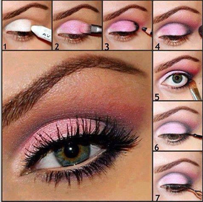 Ladies Eyes Make Up Tutorials...