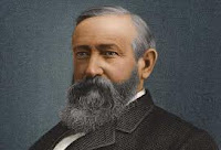 painting of Benjamin Harrison, twenty-third President of the United States