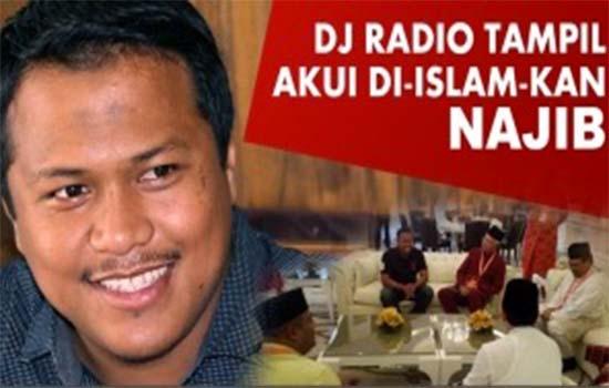 Identiti DJ Radio yang diislamkan Najib Razak