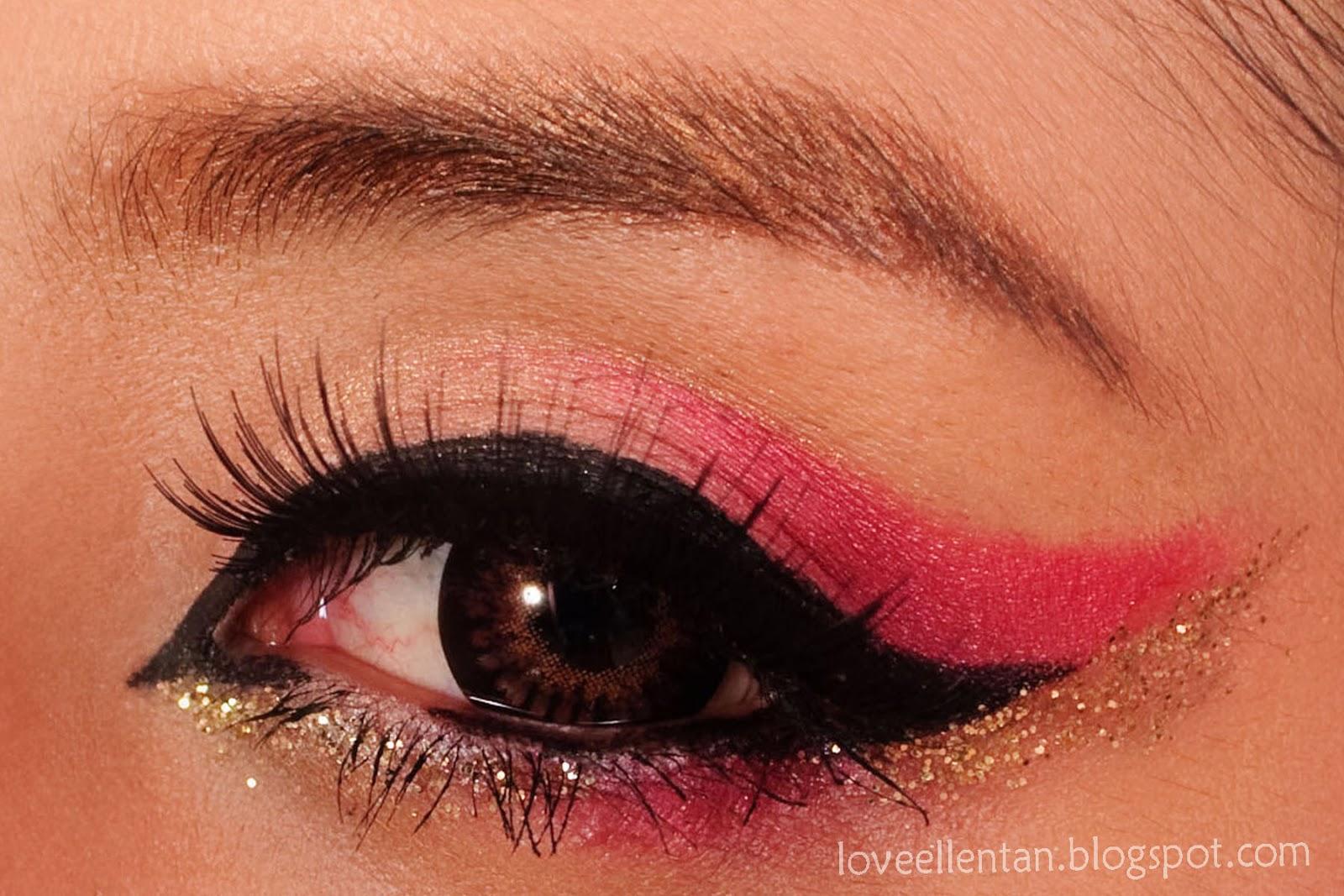 Cat Eye Makeup Chinese New Year Loveellentan