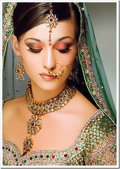 south indian bridal makeup. Punjabi Bridal Makeup,punjabi