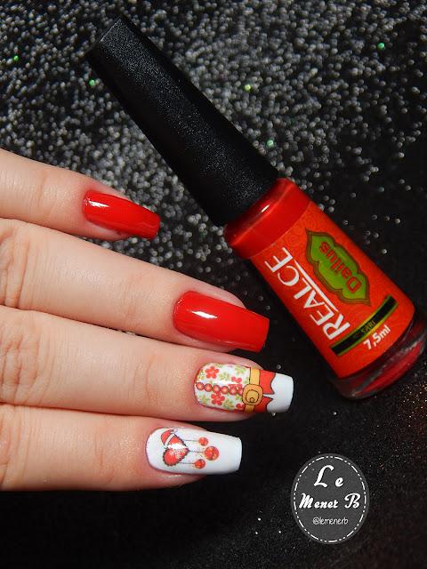 nail art natalina