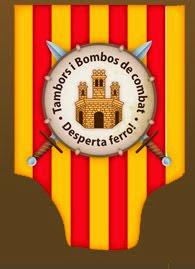 """DESFILADA EN ALCUBLAS 2014,TAMBORS Y BOMBOS DE COMBATE """"DESPERTA FERRO"""""""