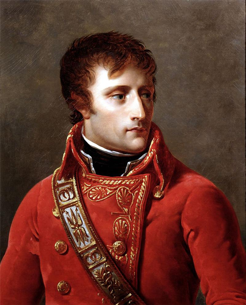 the life of napoleon buonaparte as a lieutenant in the french army