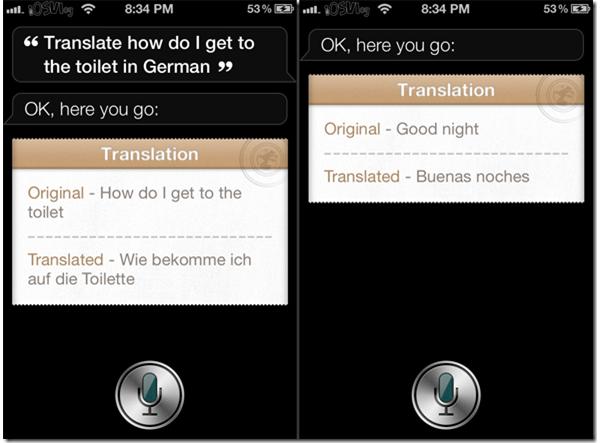 Lingual Siri Tweak