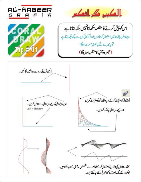 Drawing Lines In Coreldraw : Corel draw urdu learning