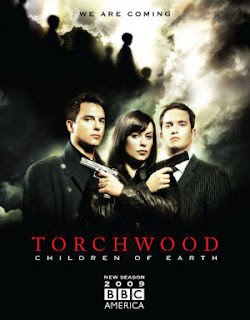 Cartaz da série Torchwood - Children of Earth, terceira temporad de Torchwood