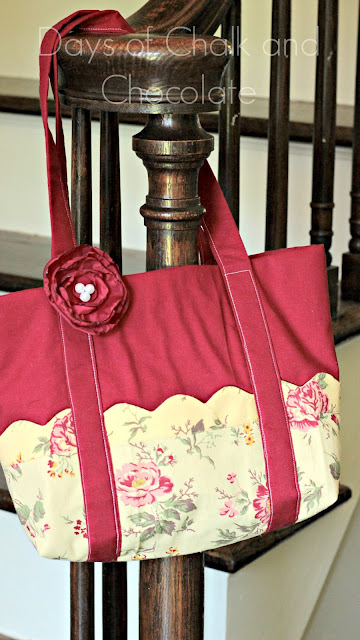 easy fabric diy tote bag