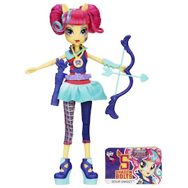 MLP Equestria Girls Friendship Games Sporty Style Deluxe Sour Sweet Doll