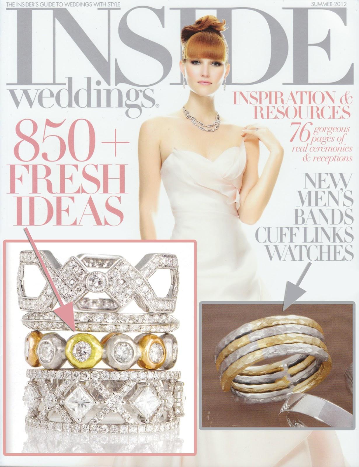 wedding rings magazine