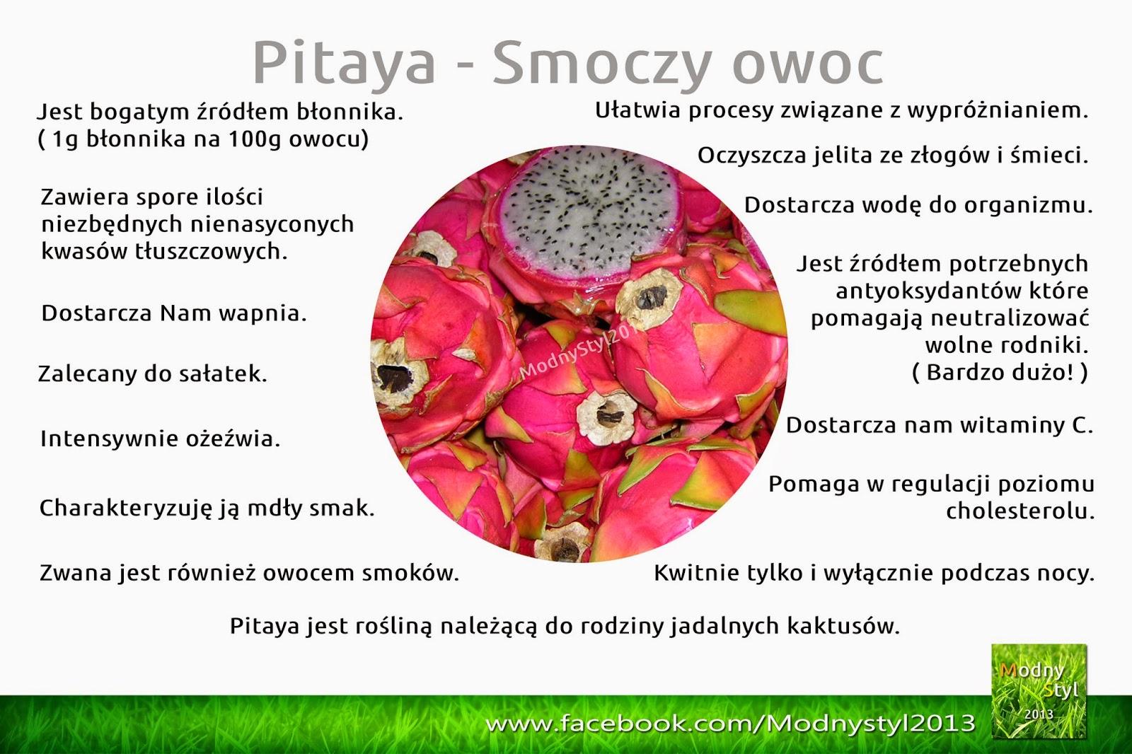 Pitaya - smoczy owoc