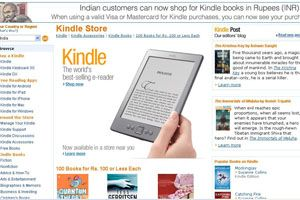 Amazon Kindle, Kindle Store now in India
