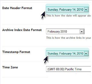 format waktu timestamp blogspot