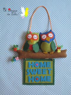 colgante-decorativo-fieltro-decoración-Hogar-dulce-hogar-home-sweet-home-elbosquedelulu-hecho-a-mano-para-ti-