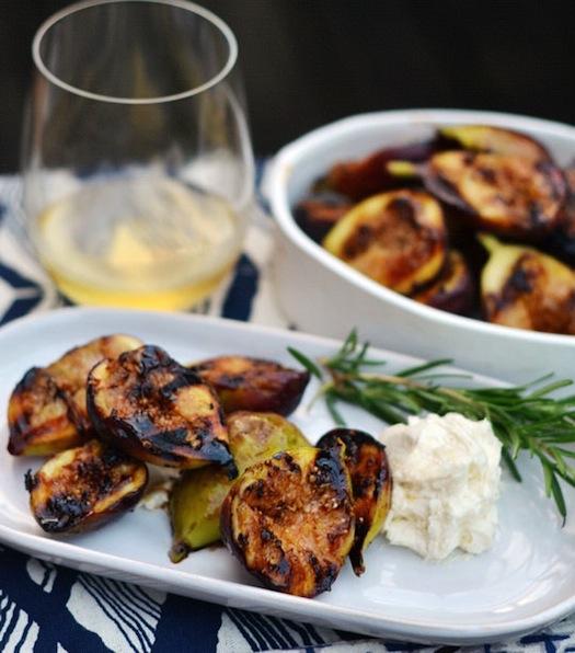 Chic souffl 8 ideas para cocinar fruta en la barbacoa for Cocinar para 8
