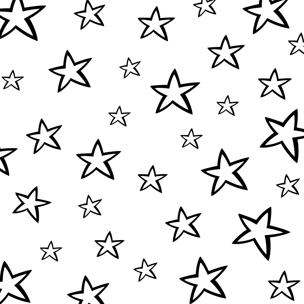 windows black stars background