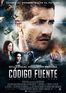 Cartel oficial de la película Código Fuente
