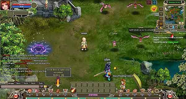 Download Free MMORPG Games - Crystal Saga