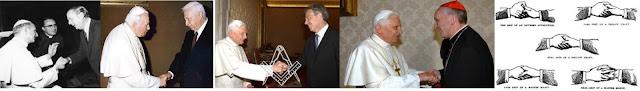 Le pouvoir occulte du Vatican, participation secrète avec les régimes totalitaires. - Page 8 Poign%C3%A9s+ma%C3%A7onniques+papes