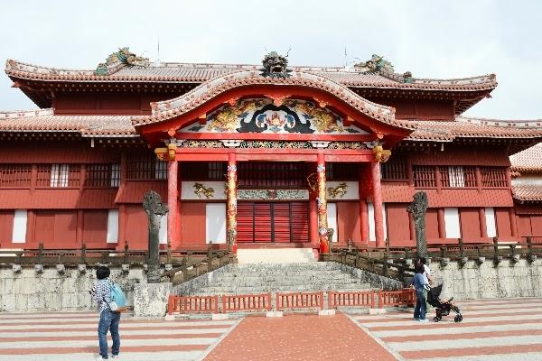 Shuri Castle, Okinawa Japan