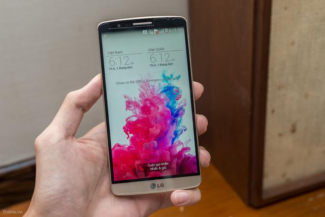 Hướng dẫn chọn mua và test điện thoại LG G3 Cat6 F460