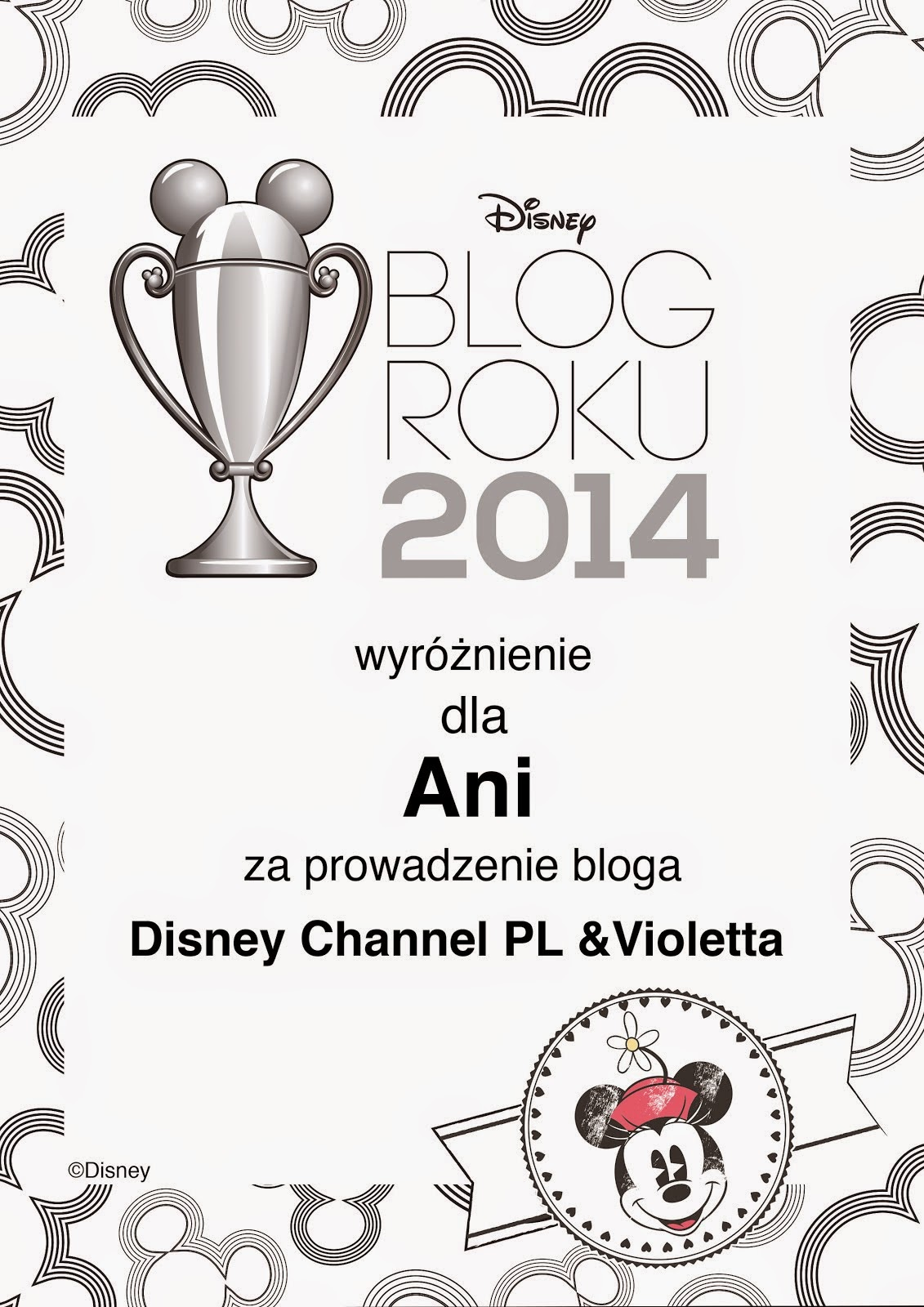 "Nasz blog jako ""Blog Roku 2014""!"