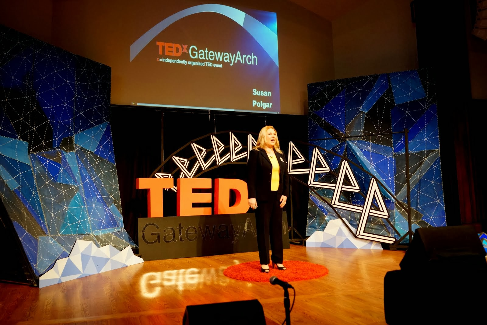 TEDx Gateway Arch on January 11, 2014