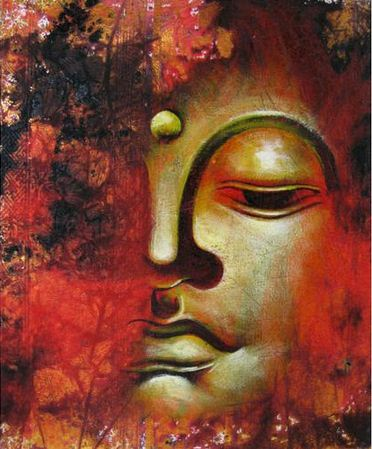 buddha quotes online lord buddha half face painting hd buddha red