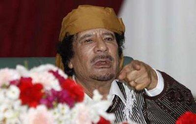 MOUMMAR GHADDAFI TALKING TOUGH, STILL DEFIANT AND RESOLUTE?