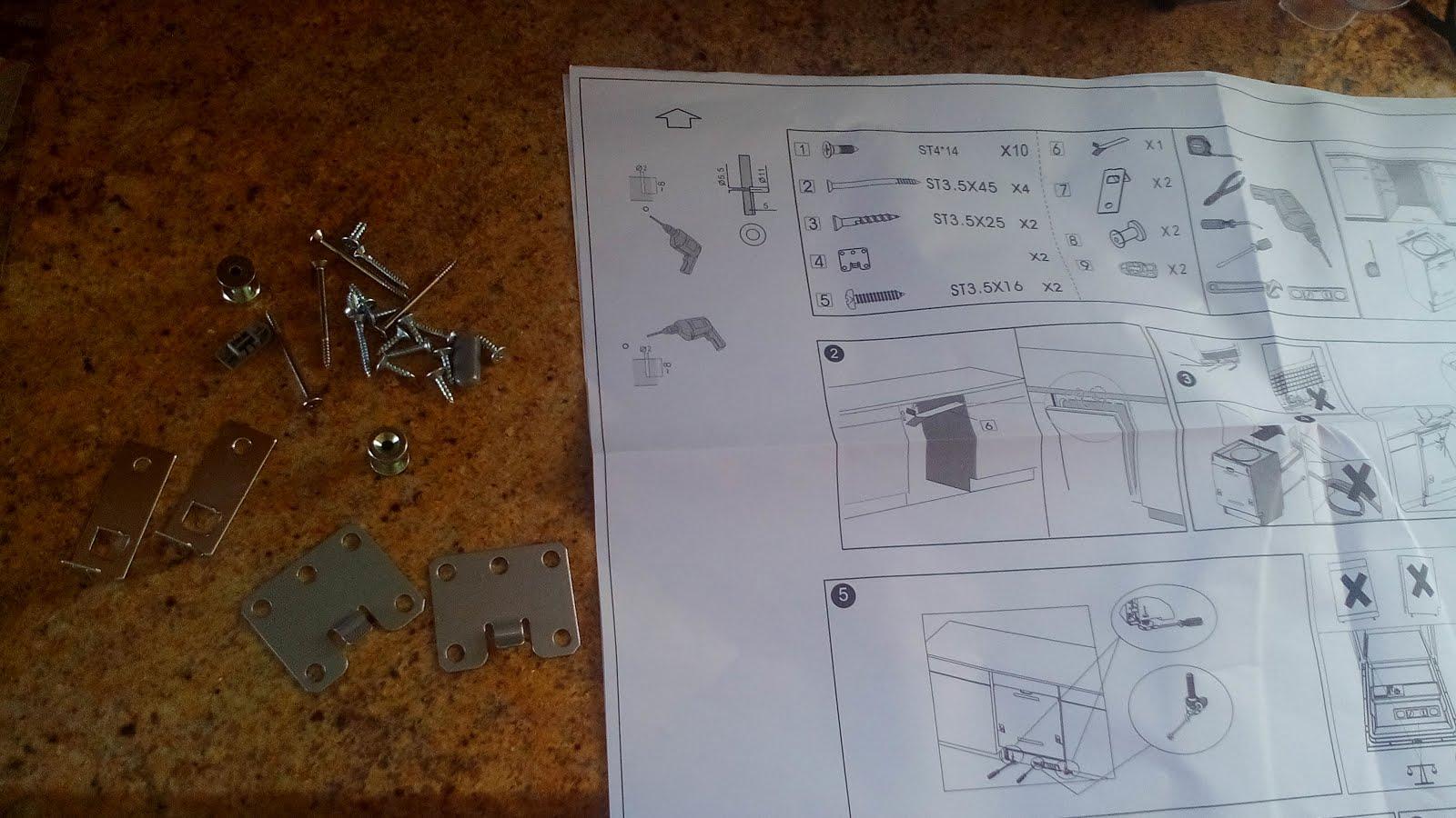 Soluciona tus problemas cotidianos montaje de la puerta - Instalar un lavavajillas al fregadero ...