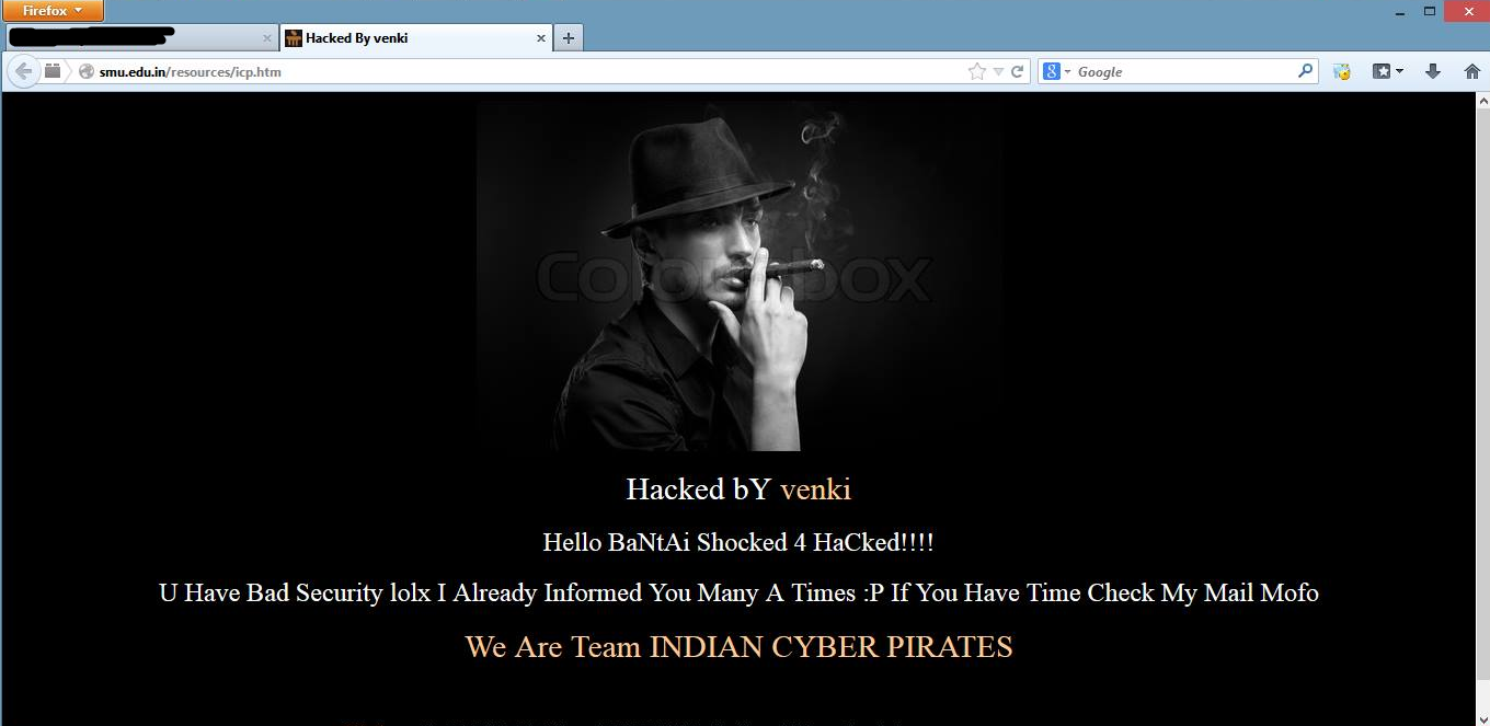 Sikkim Manipal University Site Hacked, SMU site hacked and defaced, hackers have hacked, hacking website, defaced site, Sikkim Manipal University official site hacked, Sikkim Manipal University defaced, hackers access the admin panel of the Sikkim Manipal University, hacking websites, hacked by Indian Cyber Pirates, indian hackers hacking websites,